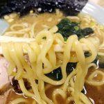 奥津家 ラーメン 麺