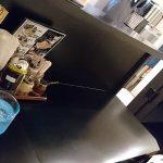 横浜家系らーめん 八代 店内と調味料
