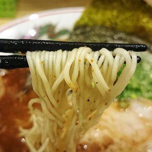 中華そば 節 府中店 麺