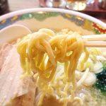 特麺コツ一丁ラーメン 麺